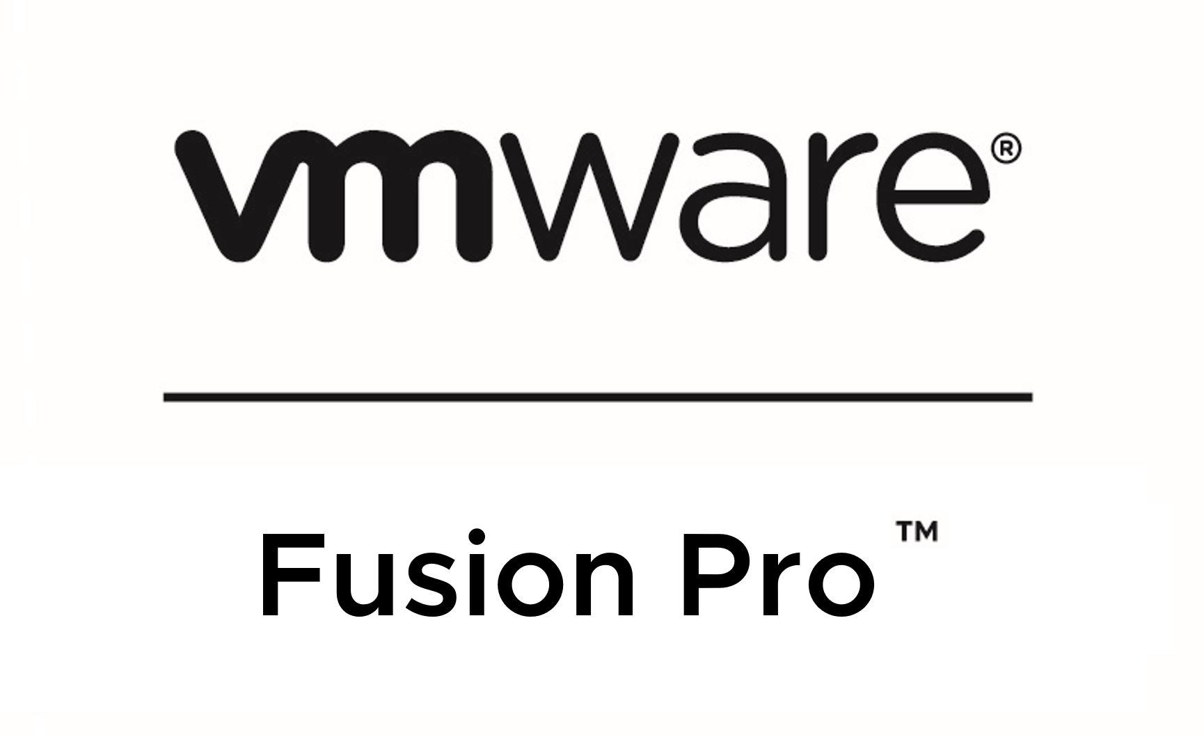 VMware Fusion 11.x Pro (for Intel-based Macs)